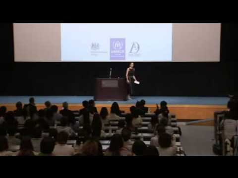 Angelina Jolie Takes Family To Japan   Angelina Speaks Out Against Rape In Japan video
