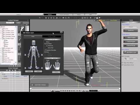 iClone5 Quick Fix Tutorial – Layering Animation Part 2