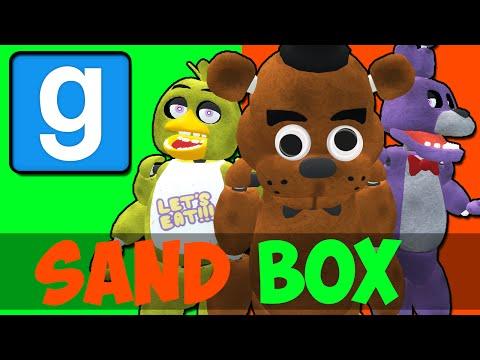 FIVE NIGHT'S AT FREDDY'S! (Gmod Sandbox Funny Moments)