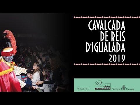 Cavalcada de Reis d'Igualada 2019