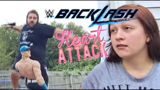 HYPED FAT GUY FAKES HEART ATTACK DOING WWE BACKLASH 2016 PREDICTIONS!