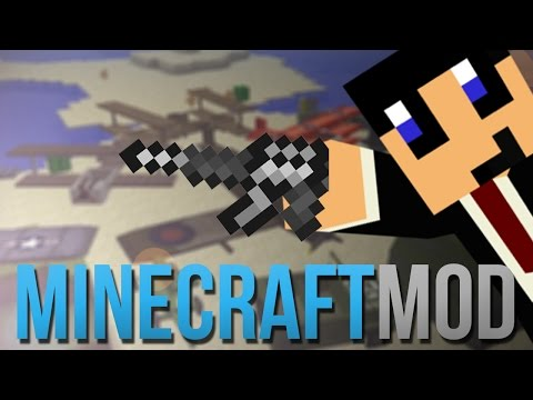 Tijd voor GUN POWER!! Flansmod! Minecraft Mod Review!