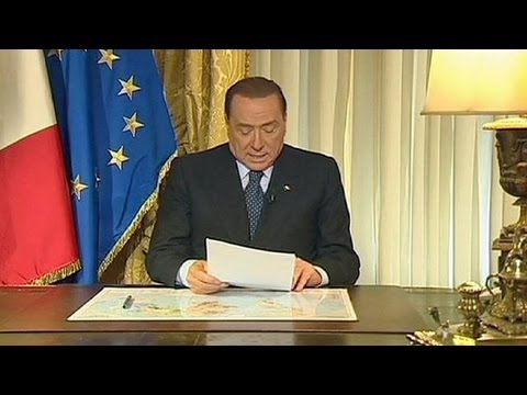 """Italia, Pdl minaccia: """"Crisi se Berlusconi espulso dal Senato"""""""