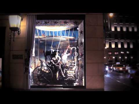 Follow Me: the Making of Bergdorf Goodman s 2010 Holiday Windows