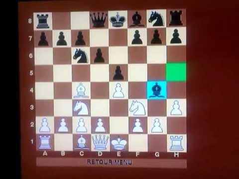 Filidorova odbrana LEGALOV mat  I deo #03 sah i mat