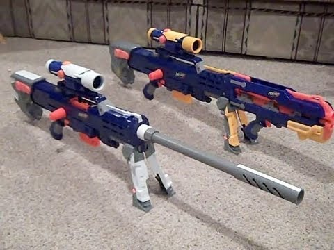 My NEW Nerf N-Strike Elite Longshot custom gun mod