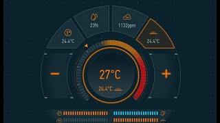 Климат-контроль в системах Умный дом от Larnitech