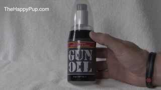 Gun Oil Silicone Based Lubricant | The Happy Pup