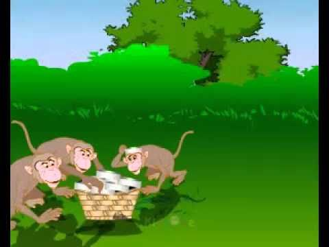 The Story Of Capseller And The Monkey In English By Sarvesvaran video