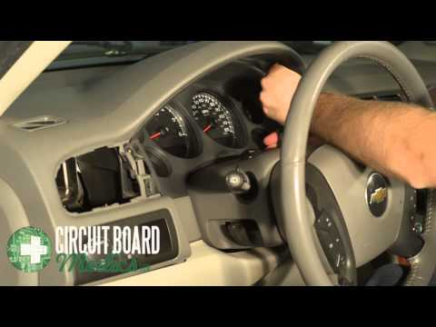 2007 Suburban Instrument Cluster Removal and Repair