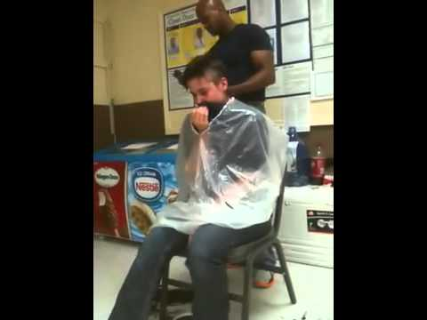 Girl Head Shave video