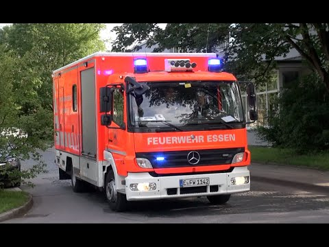 [2 Generationen] 2x LRF der Feuerwehr Essen FW 1 & 9