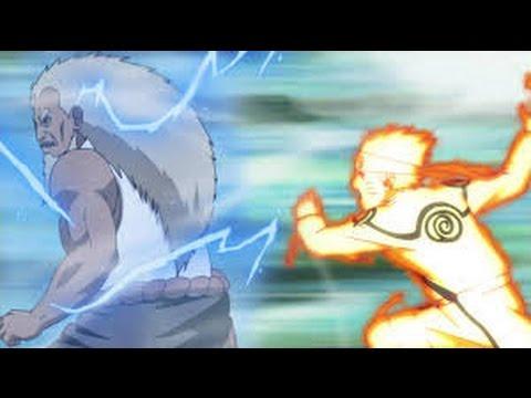 Naruto VS Sandaime Raikage (Full Fight) - Legendado em Português (HD)