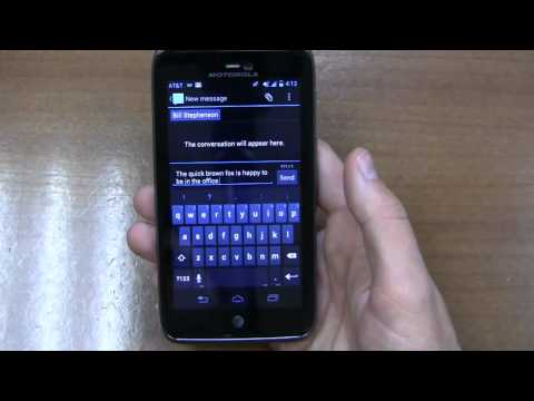 Video: Motorola Atrix HD Review Part 1