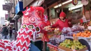 New York Lion Dance Hung Ching 2019 múa lân 舞狮