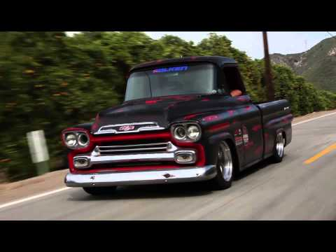 Pickup Power: 1959 Corner-Carving Apache - /BIG MUSCLE