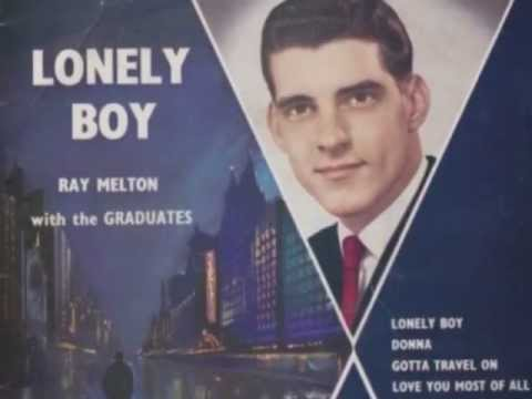 Ray Melton - Gotta Travel On - 1959 - Leedon EP 'Lonely Boy' LEP-302