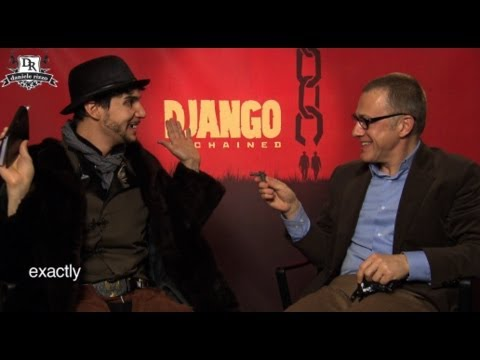 Christoph Waltz vs Wanted Man! Django Unchained Tarantino, Jamie Foxx, Jackson, Kerry Washington