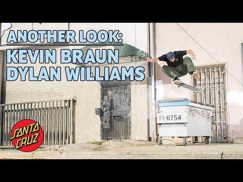 Kevin Braun & Dylan Williams Full Part - Another Look | Santa Cruz Skateboards