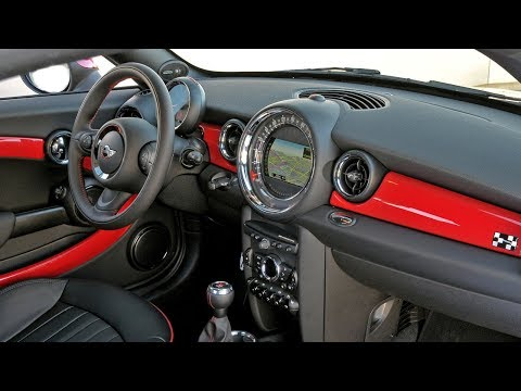 Обзор Mini Coupe JCW, интерьер