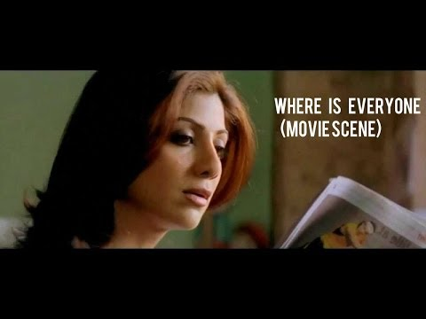 Where is everyone? (Movie Scene) Life In A Metro | Shilpa Shetty...