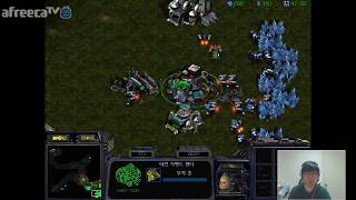 스타1 StarCraft Remastered 1:1 (FPVOD) Mind 박성균 (T) vs Larva 임홍규 (Z) Map?