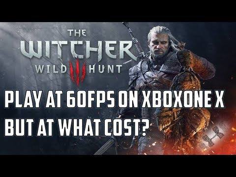 The Witcher 3: XboxOne X delivers 60fps for free!