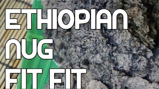 Ethiopian Nug Fitfit Recipe - Amharic Niger Injera Enjera Noog Video