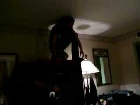 Oscar Dronjak jumping