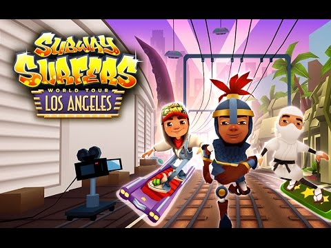 Subway Surfers World Tour 2015 - Los Angeles