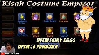 Buka Telur Peri & 46 Pandora !!! Dragon Nest M