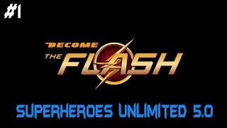 "Superheroes Unlimited 5.0: TRAILER #1 - ""BECOME THE FLASH"" (Release Date/Slo-Mo/Speedster Trails)"