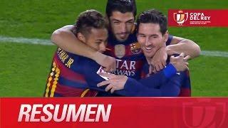 Resumen de FC Barcelona (7-0) Valencia CF