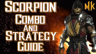 Scorpion Combo Tutorial And Strategy Guide   Mortal Kombat 11