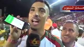 بكاء نبيل درار  عند تحقيق حلم التأهل إلى روسيا