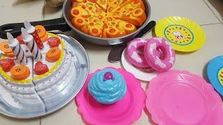 Bé Chơi Trò Cắt Bánh Kem Sinh Nhật| Kids Toy Media Đồ Chơi Trẻ Em