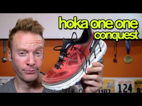 HOKA ONE ONE CONQUEST REVIEW | The Ginger Runner