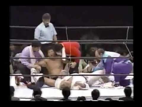 Akira Maeda vs Willy Wilhelm