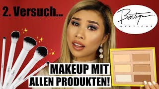 2. Versuch... l Makeup mit ALLEN Beetique Produkten von Dagi! l Beauty News by Kisu