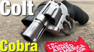 Colt Cobra .38 Special revolver makes a triumphant return