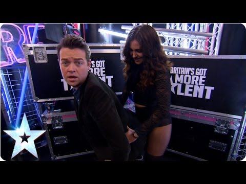 Stephen Mulhern Learns To Twerk | Britain's Got Talent 2014 video