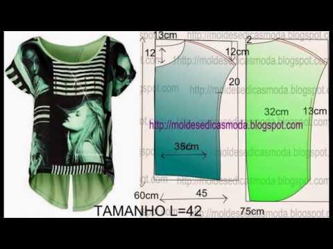 Как сшить простейшую блузку без выкройки