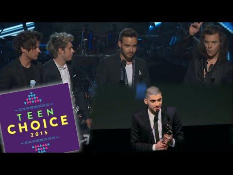 WTF! One Direction & Zayn Malik Battling For Same Teen Choice Award!