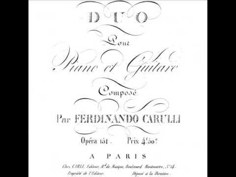 Фердинандо Карулли - Op.70
