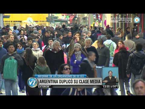 Visión 7 - La clase media argentina se duplicó en diez años
