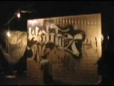 Illogic Write To Death Graffiti Wall -i've Been Here Before video