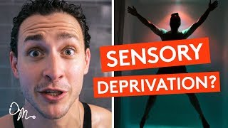 SENSORY DEPRIVATION IN A FLOTATION TANK | WHAT IS FLOAT THERAPY? | Doctor Mike