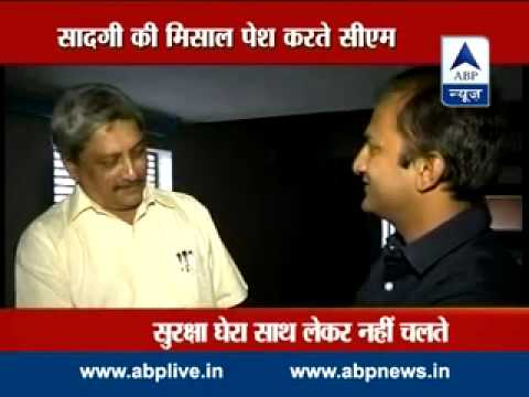 The virtues of Goa CM Manohar Parrikar