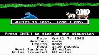 The Oregon Trail - The Journey Begins