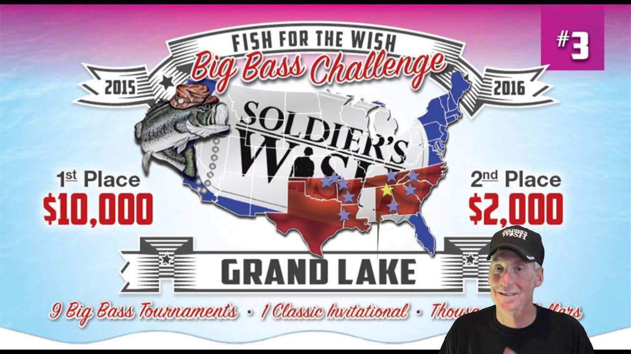 Fish for the Wish Big Bass Challenge fishing tournament on Grand Lake  Oklahoma